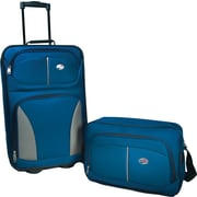 American Tourister Fieldbrook 2 Piece Luggage Set, Cobalt Blue
