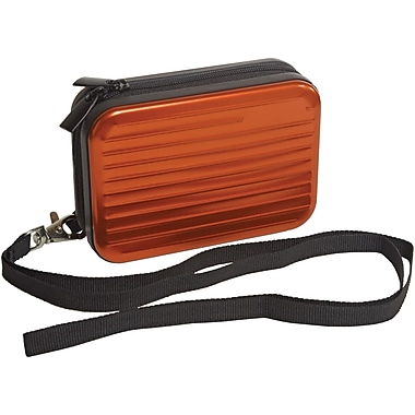 Digital Treasures® SecureShell Camera Case, Tangerine Tango