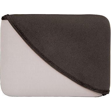 Digital Treasures® FlipIt! 10in. Sleeve For iPad, Black/Grey