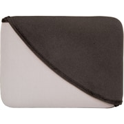 "Digital Treasures 07324 Neoprene Sleeve for 10"" Apple iPad, Black/Gray"