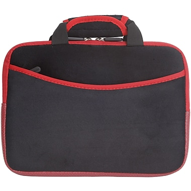 Digital Treasures® SlipIt! Pro 10in. Tablet Case For Tablets, Black/Red