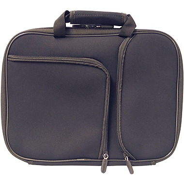Digital Treasures® 11.6in. PocketPro Deluxe Case for Chromebook/Ultrabook, Black