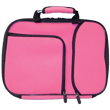 Digital Treasures® 11.6in. PocketPro Deluxe Case for Chromebook/Ultrabook, Pink