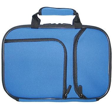 Digital Treasures® 11.6in. PocketPro Deluxe Case for Chromebook/Ultrabook, Ice Blue