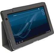 "Digital Treasures 07996 Leather Folio Case for 10"" Acer Tablet, Black"