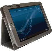 "Digital Treasures 07998 Polyurethane Folio Case for 10"" Toshiba Tablet, Black"