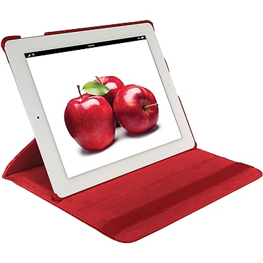 Digital Treasures® Props Pivot Carrying Case For New iPad 3, Red