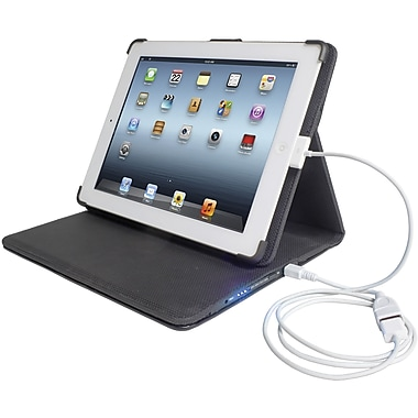 Digital Treasures® Props Power Case For iPad 2, iPad 3, and iPad 4, 12000mAh