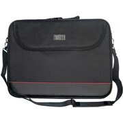 "Digital Treasures® ToteIt! 15.6"" Notebook Bag, Black"