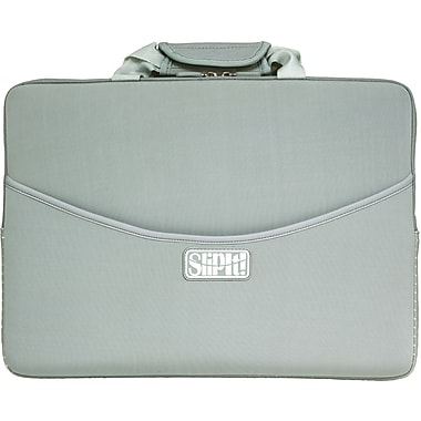 Digital Treasures® SlipIt! Pro 15in. Notebook Case For MacBook Pro, Gray/White