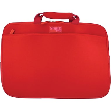 Digital Treasures® SlipIt! Pro 15in. Notebook Case, Red