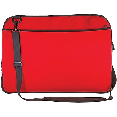 Digital Treasures® SlipIt! Pro Reversible 15in. Notebook Case, Red