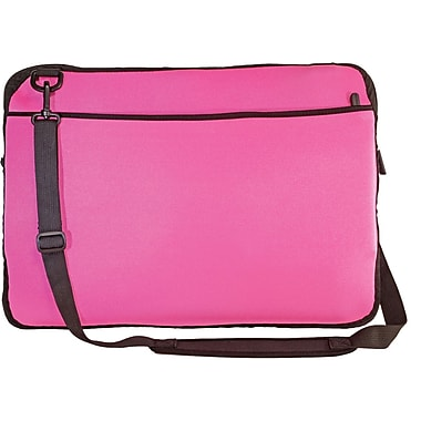 Digital Treasures® SlipIt! Pro Reversible 15in. Notebook Case, Pink