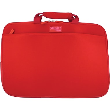 Digital Treasures® SlipIt! Pro 17in. Notebook Case, Red