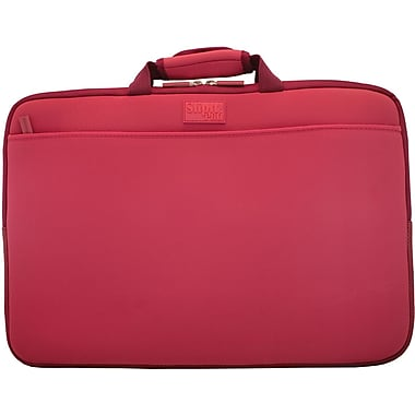 Digital Treasures® SlipIt! Pro 17in. Notebook Case, Garnet Red