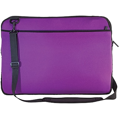 Digital Treasures® SlipIt! Pro Reversible 17in. Notebook Case, Purple