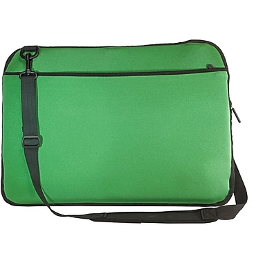 Digital Treasures® SlipIt! Pro Reversible 17in. Notebook Case, Green