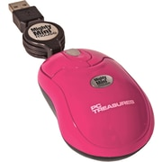 Digital Treasures® Retractable Mighty Mini Mouse, Pink