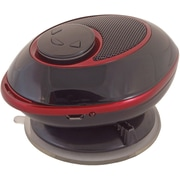 Digital Treasures® Lyrix Duo 2-in-1 Bluetooth Speaker, Black With Red Accents