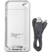 Digital Treasures® ChargeIt! 2X iPhone Case For iPhone 4/4S, White