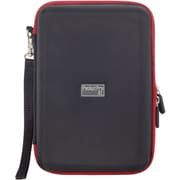"Digital Treasures 8749 EVA Case for 7"" Universal Tablet, Black/Red"