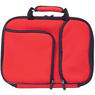 Digital Treasures® 11.6in. PocketPro Deluxe Case for Chromebook/Ultrabook, Red