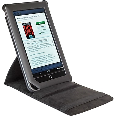 Digital Treasures® Props Pivot Case For Nook Tablet and Nook Color, Black