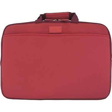 Digital Treasures® SlipIt! Pro 15in. Notebook Case, Garnet Red