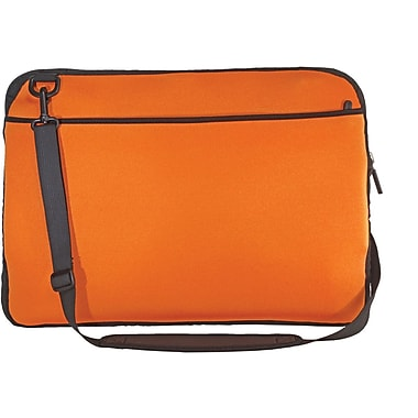Digital Treasures® SlipIt! Pro Reversible 15in. Notebook Case, Orange