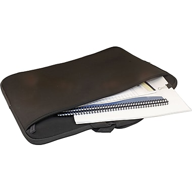 Digital Treasures® SlipIt! Pro 17in. Notebook Case, Black