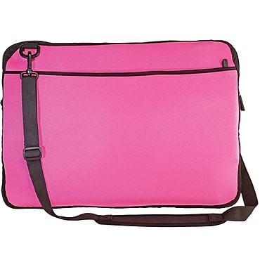 Digital Treasures® SlipIt! Pro Reversible 17in. Notebook Case, Pink