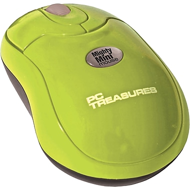 Digital Treasures® Wireless Mighty Mini Mouse, Green
