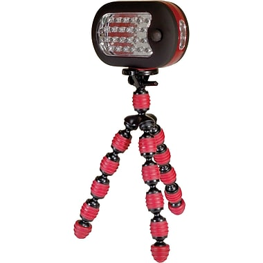 Digital Treasures® GrippIt! Flashlight, Red