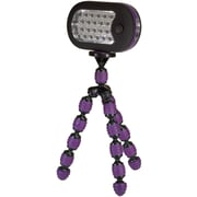 Digital Treasures® GrippIt! Flashlight, Purple