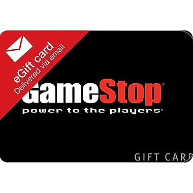 GameStop Gift Card, $50 (Email Delivery)