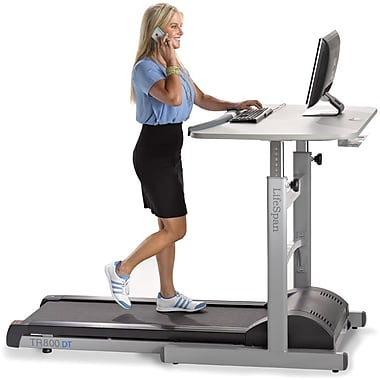 Lifespan TR800-DT5 Treadmill Desk, Gray