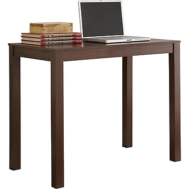 Staples Easy2Go Parsons Desk, Resort Cherry