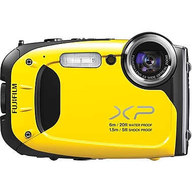 Fuji XP60 Digital Camera, Yellow