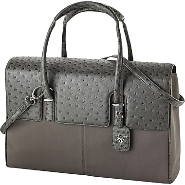Francine Collection London Computer Bag for 15.6in., Ostrich Grey
