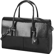 Francine Collection London Computer Bag for 15.6, Python Black