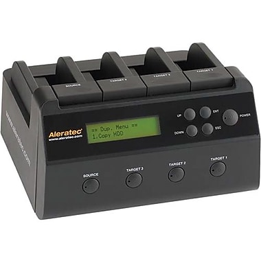 Aleratec™ 350117 Standalone 1:3 Copy Dock HDD Duplicator, USB 3.0 Interface