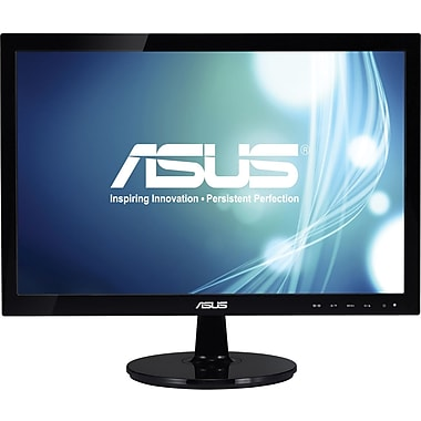 ASUS VS197D-P - LED monitor - 18.5in.
