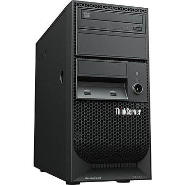 Lenovo™ TopSeller ThinkServer TS130 4GB RAM Intel® Xeon® E3-1245V2 Dual-Core™ 3.40GHz Tower Server