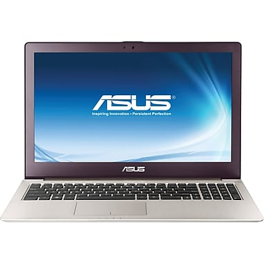 Asus® Zenbook UX51VZ 15.6in. LED LCD Ultrabook, Fast Next Gen Intel® Quad-Core™ i7-3612QM 2.10GHz