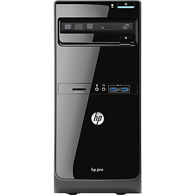 HP® Smart Buy PRO 3500 MT Desktop PC, 3rd Gen Intel® Dual-Core™ i3-3220 3.30GHz Windows 8 Pro