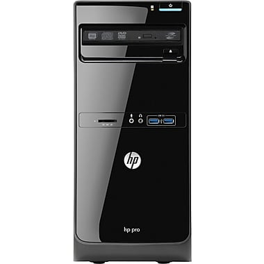 HP® Smart Buy PRO 3500 C6Z81UT MT Desktop PC, Intel® Pentium® Dual-Core™ G645 2.80GHz