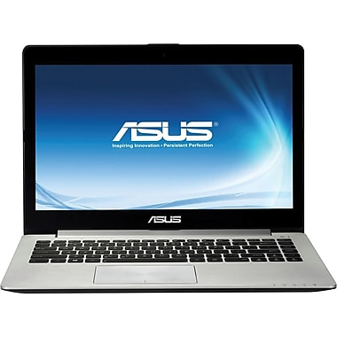 Asus® X202E 11.6in. Aluminum Gray LED LCD Laptop, Intel® Dual-Core™ i3-3217U Ivy Bridge 1.80GHz