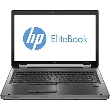 HP® Elitebook 8770W 17.3in. LED LCD Laptop, Intel® Quad-Core™ i7-3740QM 2.70GHz 8GB