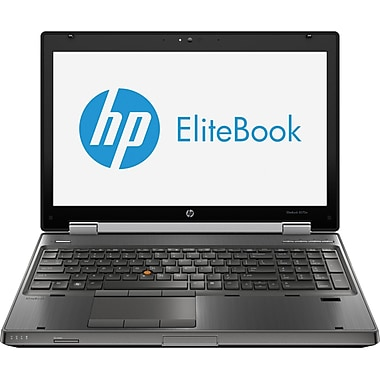 HP® Elitebook 8570W 15.6in. LED LCD Laptop, Intel® Dual-Core™ i5-3360M 2.80GHz 4GB