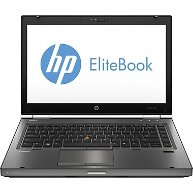 HP® Smart Buy Elitebook 8470W 14in. LED LCD Laptop, Intel® Quad-Core™ i7-3630QM 2.40GHz 8GB